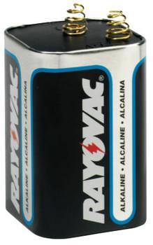 Rayovac Lantern Batteries, Maximum Alkaline, 6 V (6 EA/EA)