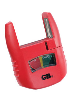 Gardner Bender Analog Battery Testers, AA, AAA, C, D, 9V, 1.5V Button (1 EA/EA)