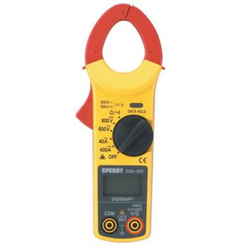 Sperry Instruments 5-Function Digital Snap-Around, 5 Function, 9 Range, 400 A (1 EA/EA)