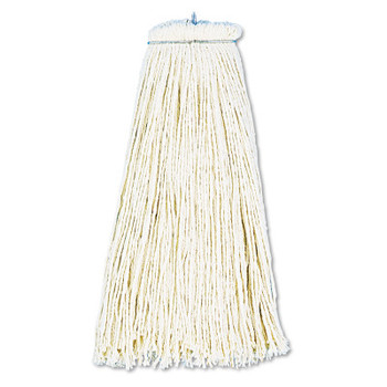 Boardwalk Cut-End Lie-Flat Wet Mop Head, Cotton, 16oz, White (1 EA/PK)