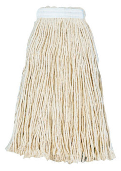 Boardwalk Cut-End Wet Mop Heads, Economical Lieflat Head, 20 oz, Rayon (12 CA/PK)