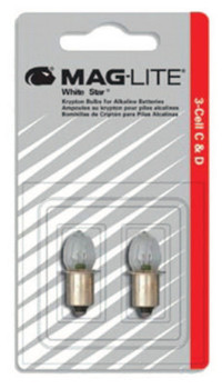 MAG-Lite Solitaire Replacement Lamps, For Use With AAA Single-Cell (24 CTN/PKG)