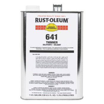 Rust-Oleum Industrial 641 Thinner (2 GAL/PKG)