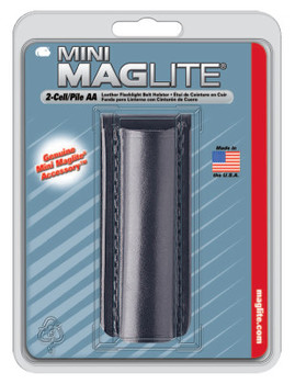 MAG-Lite Holsters, Flapless, For Use With 2-AA Flashlights, Black (1 EA/CA)