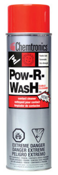 Chemtronics Pow-R-Wash Contact Cleaners, 13 1/2 oz Aerosol Can (12 CAN/BIT)