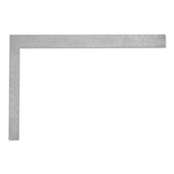 Stanley Products Aluminum Carpenter Squares, 16 in x 24 in, 1/8 in @ 1 in, Aluminum (1 EA/EA)