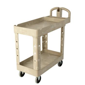Newell Rubbermaid Utility Carts, 500 lb, 38 1/2 X 17 1/4 X 38 3/4h, Beige (1 EA/BOX)