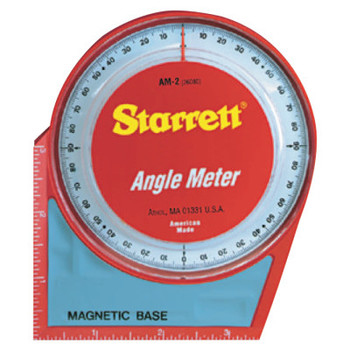 L.S. Starrett Angle Meters, Magnetic, 0 to 90 degree (1 EA/EA)