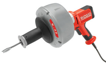 Ridgid Tool Company K-45 Drain Cleaners, 600 rpm, 3/4 in-2 1/2 in Pipe Dia. (1 EA/PK)