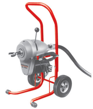 Ridgid Tool Company Model K-1500A Drain Cleaners, 710 rpm, 2 in-8 in Pipe Dia., (1 EA/EA)