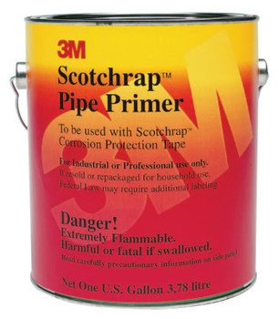 3M Scotchrap Pipe Primers, 1 Gallon , Black (4 GAL/PK)