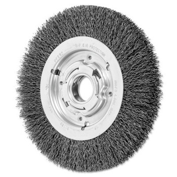 Advance Brush Medium Crimped Wire Wheel Brush, 8 D x 1 1/16 W, .014 Carbon Steel, 4,500 rpm (1 EA/CA)