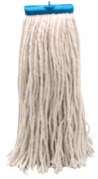 Boardwalk Cut-End Wet Mop Heads, Economical Lieflat Head, 24 oz, Cotton (12 CA/EA)