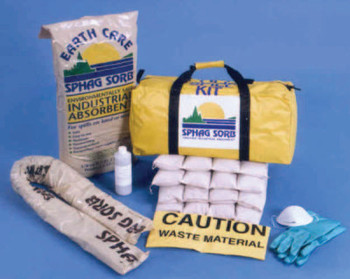 Sphag Sorb Spill Response Kits, 10 to 12 Gallon (1 KIT/PK)