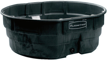 Newell Rubbermaid 50 GAL STOCK TANK BLK (1 EA/KT)