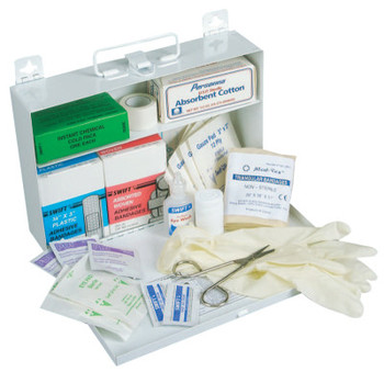 Honeywell 25 Person First Aid Kits, Metal (1 KT/EA)