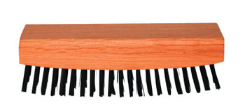 Magnolia Brush Rocker-Back Wire Scratch Brushes, 7 1/4 in, 9X21 Rows,Tempered Carbon Steel Wire (12 CTN/CS)