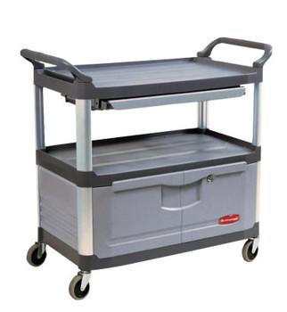 Newell Rubbermaid Carts, 300 lb, 40 5/8 X 20 3/4 X 37 7/8h, Black (1 EA/CS)