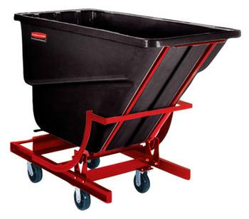 Newell Rubbermaid Self-Dumping Hoppers, 1/2 yd3, 750 lb (1 EA/PA)