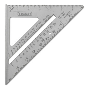 Stanley Products Quick Square Layout Tools, 10 1/8 Blade Length, Aluminum (1 EA/CA)