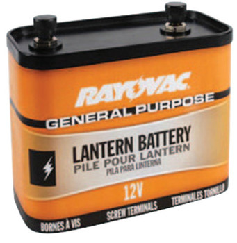 Rayovac Lantern Batteries, General Purpose, 12V (6 EA/CS)