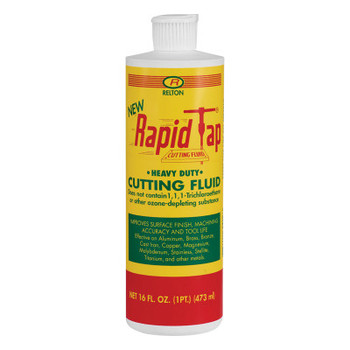 Relton Rapid Tap Metal Cutting Fluids, 1 pt, Can (12 CAN/CA)