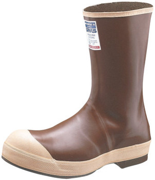 Honeywell Neoprene Boots, Size 14, 12 in H, Neoprene, Copper/Tan (6 PR/EA)