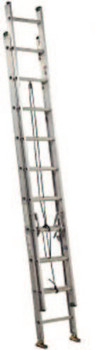 Louisville Ladder AE4000 Series Commercial Aluminum Extension Ladders, 24 ft, Class II, 225 lb (1 EA/CA)