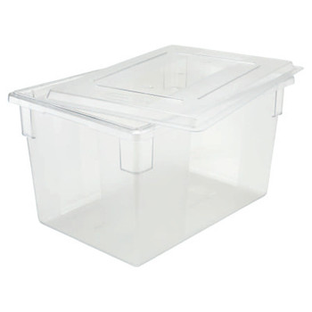 Newell Rubbermaid Extreme Performance Food/Tote Box, 21 1/2 Gallon, Clear (6 CTN/DZ)