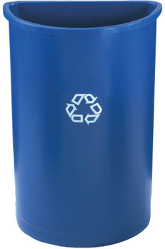 Newell Rubbermaid Untouchable Recycling Containers, 21 gal, Blue (1 EA/DOZ)