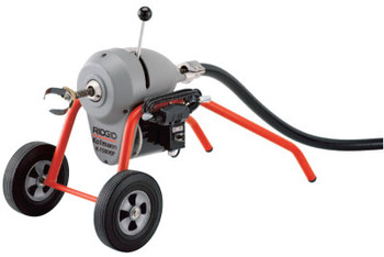 Ridgid Tool Company Model K-1500SP Drain Cleaners, 600 rpm, 2 in-10 in Pipe Dia. (1 EA/DZ)