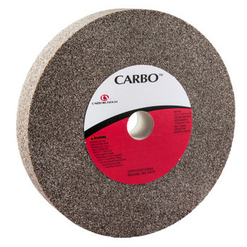 Carborundum Bench and Pedestal Wheels, Type 1, 10 in Dia., 1 1/2 in Thick, 36 Grit, M Grade (1 EA/DZ)
