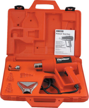 Master Appliance Proheat DualTemp Heat Gun Kits, Switch (3 Pos-Off/On/Heat), 1,000 F, 11 A (1 EA/CA)