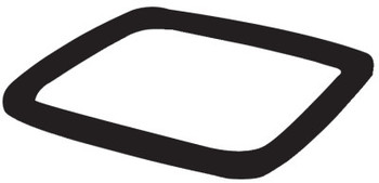 Newell Rubbermaid Single Weight Ring for 36 in Safety Cones, 9.12 lb, Black (1 EA/DOZ)