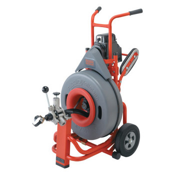 Ridgid Tool Company Model K-7500 Drain Cleaners, 200 rpm, 3 in-10 in Pipe Dia., with C-100 (1 EA/DZ)