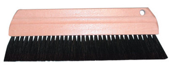 Magnolia Brush PURE BLACK HORSEHAIR CEMENT SMOOTHER BR (12 EA/DZ)