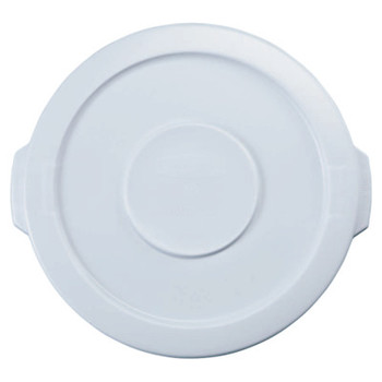 Newell Rubbermaid Brute Round Container Lids, For 32 Gal. Brute Round Containers, 22 1/4 in (6 EA/PR)