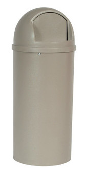 Newell Rubbermaid Marshal Classic Containers, 15 gal, Beige (1 EA/DZ)