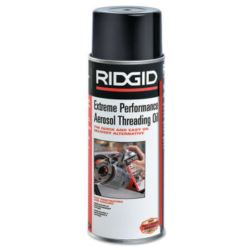 Ridgid Tool Company Thread Cutting Oils, Extreme Performance Aerosol, 16 oz (12 CS/EA)