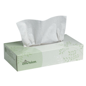 Georgia-Pacific envision Facial Tissue, 100/Box (30 CT/EA)