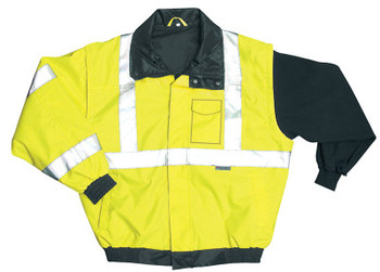 OccuNomix Bomber Jackets, 2X-Large, Yellow (1 EA/SPL)