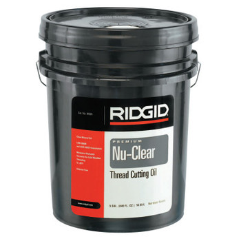 Ridgid Tool Company Thread Cutting Oils, Nu-Clear, 5 gal (5 PA/PR)