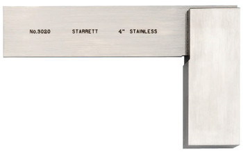 L.S. Starrett 3020 Series Toolmakers' Squares, 2 31/32 in x 4 in, Stainless Steel (1 EA/EA)