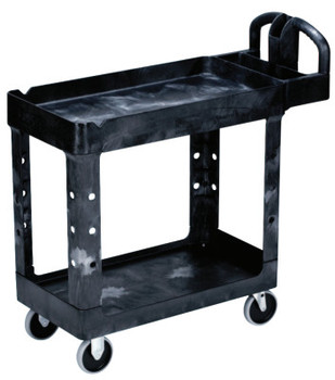 Newell Rubbermaid Utility Carts, 500 lb, 39 1/4 X 17 7/8 X 33 1/4h, Black (1 EA/EA)