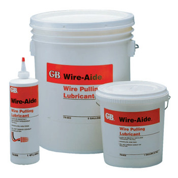 Gardner Bender Wire-Aide Wire Pulling Lubricants, 1 qt Squeeze Bottle (4 CA/EA)