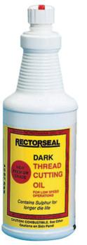 Rectorseal Dark Cutting Oils, Bottle, 1 gal (6 GAL/EA)