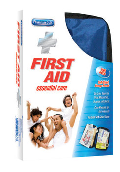 First Aid Only Soft-Sided First Aid Kits, 195 Piece, Fabric (4 EA/EA)