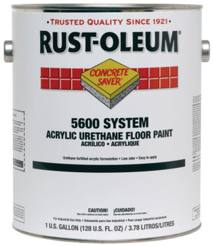 Rust-Oleum Industrial 5600 SYSTEM ACRY URETHANE FLR PAINT 1-GAL (2 CA/EA)