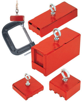 Magnet Source Holding & Retrieving Magnets, 225 lb (1 EA/CA)