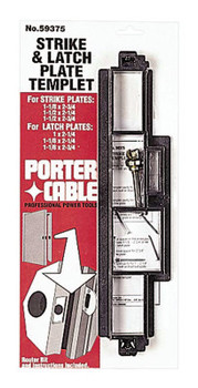 Porter Cable High Speed Strike & Latch Templet (1 EA/EA)